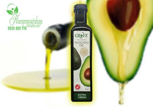Tinh dầu quả Bơ Extra Virgin Grove 250ml của Úc