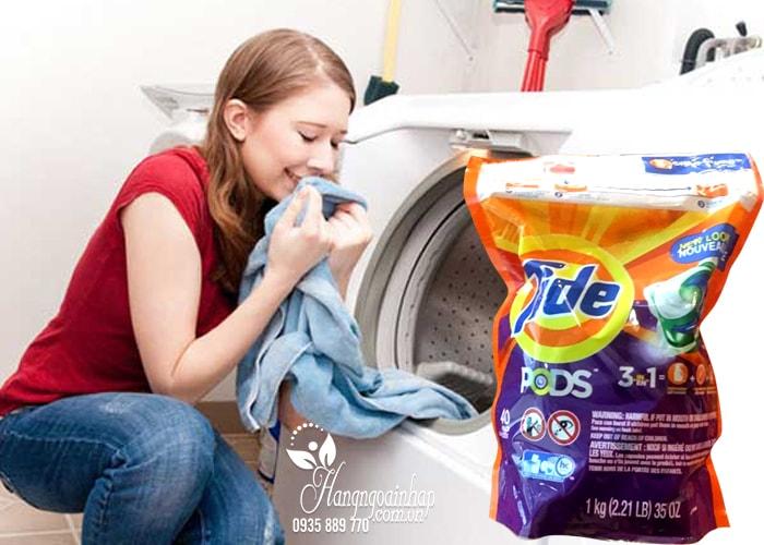 Viên giặt Tide Pods 3 in 1 gói 40 viên