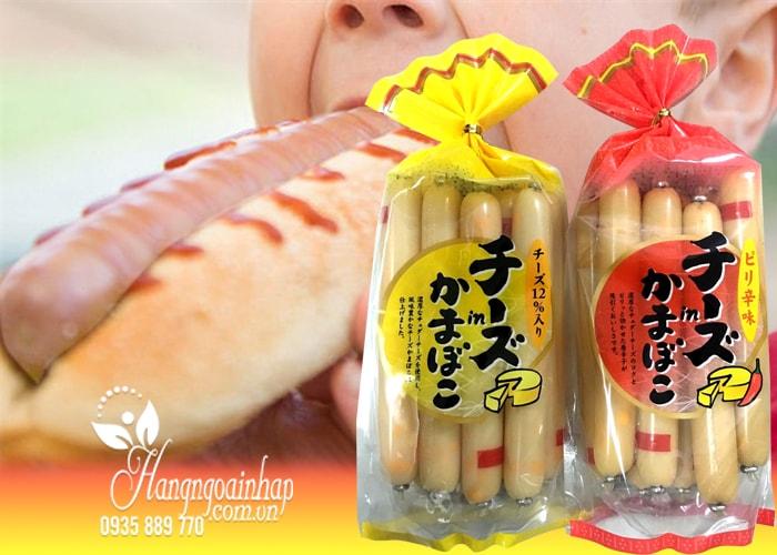 Xúc xích phô mai cá Nhật Bản 8 cây