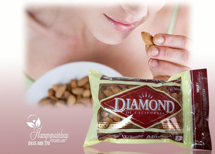 Hạnh nhân nguyên vỏ Diamond Of California 453g của Mỹ