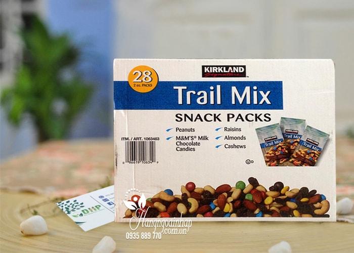 Hạt và trái cây tổng hợp Kirkland Trail Mix Snack Packs 28 gói từ Mỹ