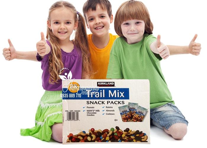 Hạt và trái cây tổng hợp Kirkland Trail Mix Snack Packs 28 gói ngon, bổ dưỡng