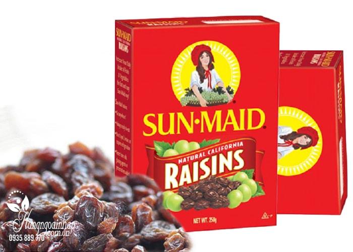 Nho khô cao cấp Sun Maid Raisins của Mỹ 250g