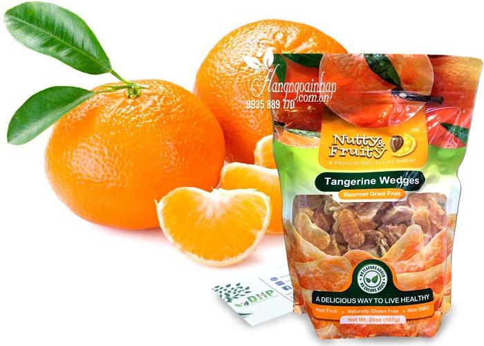 Quýt sấy khô Nutty & Fruity Tangerine Wedges 567g của Mỹ