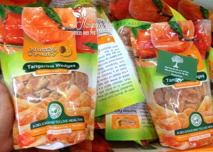 Quýt sấy khô Nutty & Fruity Tangerine Wedges 567g của Mỹ an toàn cho sức khỏe