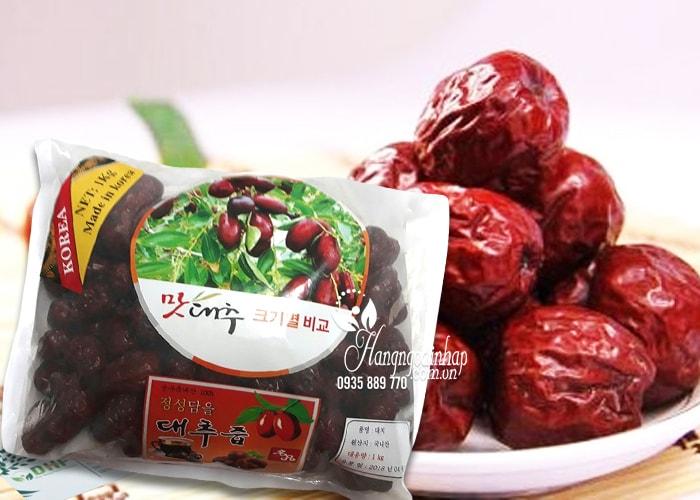 Táo đỏ sấy khô Hàn Quốc 1kg – Nhập khẩu từ Korea