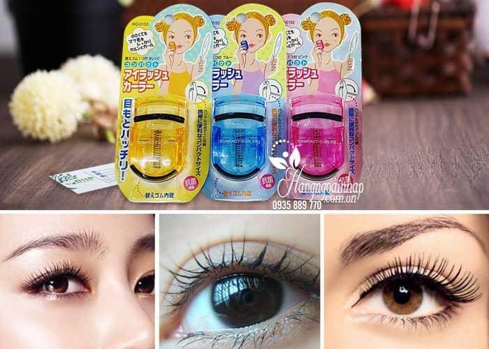 Bấm mi Kai Compact Eyelash Curler của Nhật Bản 2