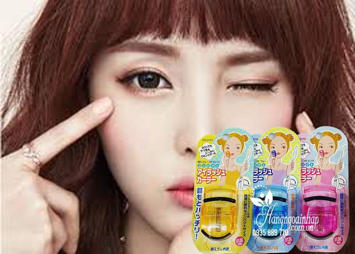 Bấm mi Kai Compact Eyelash Curler của Nhật Bản 1