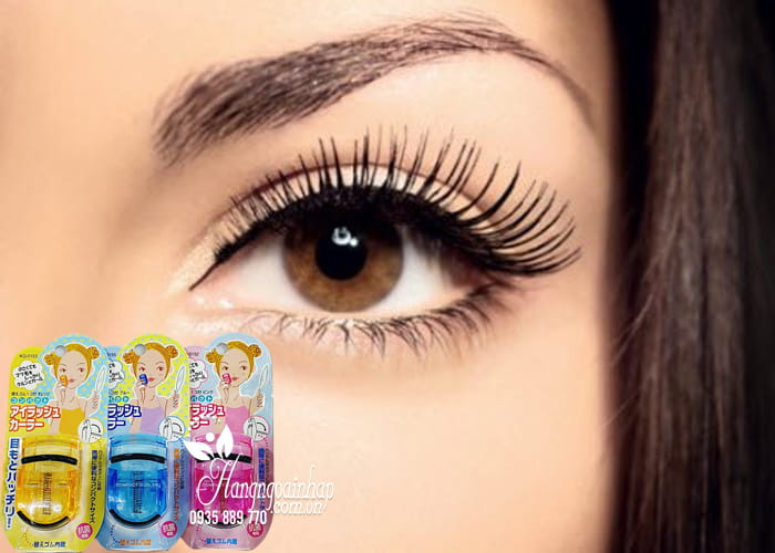 Bấm mi Kai Compact Eyelash Curler của Nhật Bản 3