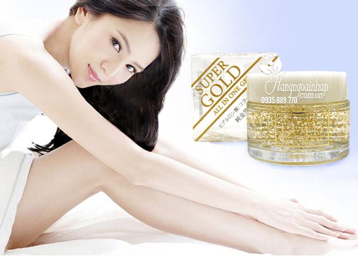 Kem dưỡng da tinh chất vàng Super Gold All In One Gel 50g của Nhật Bản (3)