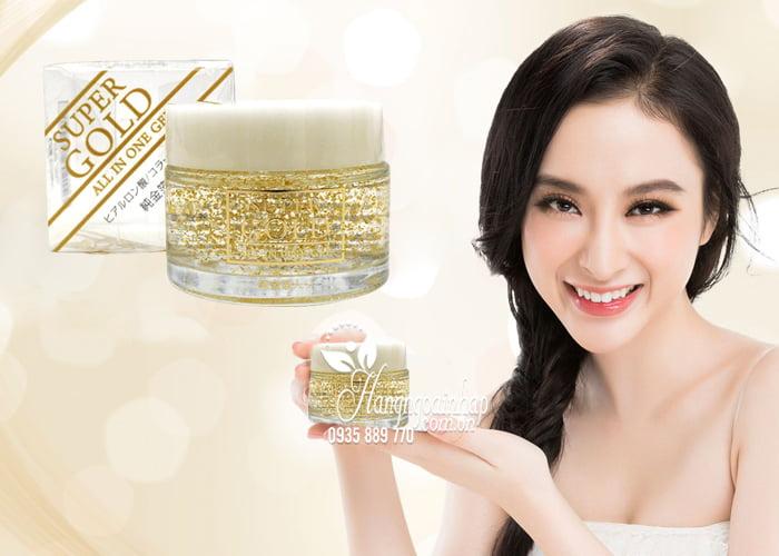 Kem dưỡng da tinh chất vàng Super Gold All In One Gel 50g của Nhật Bản (4)