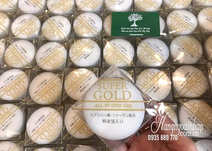 Kem dưỡng da tinh chất vàng Super Gold All In One Gel 50g của Nhật Bản (5)