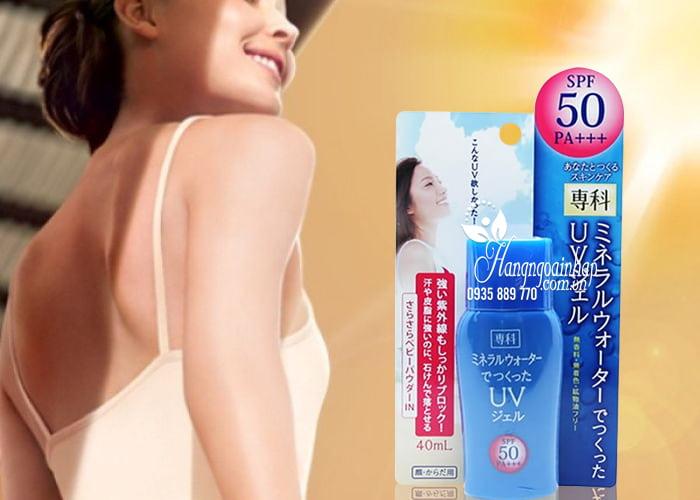 Kem chống nắng Shiseido Mineral Water Senka SPF 50 PA+++ 4