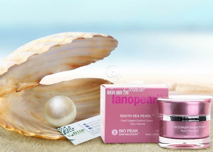 Kem dưỡng trắng da ngọc trai Lanopearl South Sea Pearl 50ml của Úc