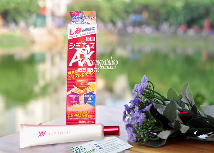 Kem trị nám tàn nhang Kracie Shimi ACE AX Nhật Bản 30g 1