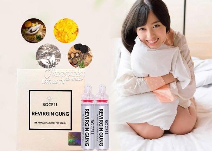Viên đặt se khít âm đạo Revirgin Gung Bqcell của Hàn Quốc 4