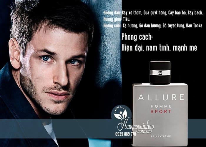 Nước hoa nam Chanel Allure Homme Sport Eau Extreme 100ml 3