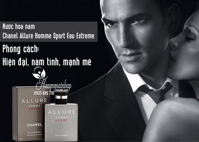Nước hoa nam Chanel Allure Homme Sport Eau Extreme 100ml 2