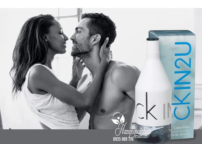 Nước hoa nam Ck In2U Calvin Klein Him EDT 100ml nhập từ Mỹ