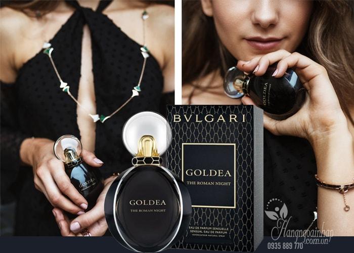 Nước hoa nữ Bvlgari Goldea The Roman Night EDP 30ml của Ý giá rẻ