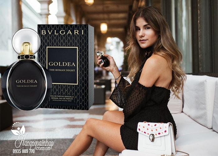 Nước hoa nữ Bvlgari Goldea The Roman Night EDP 30ml của Ý chính hãng giá rẻ
