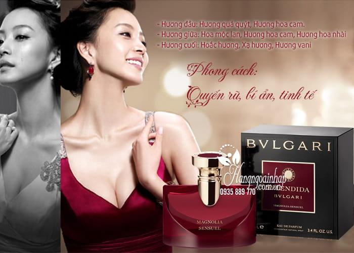 Nước hoa nữ Bvlgari Splendida Magnolia Sensuel EDP 100ml 2