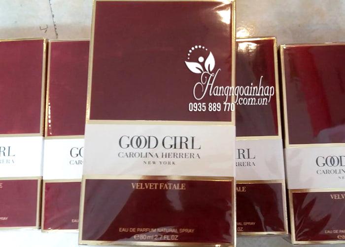 Nước hoa nữ Carolina Herrera Good Girl Velvet Fatale EDP 80ml 3