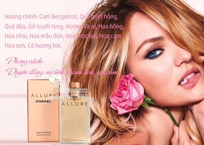 Nước hoa nữ Chanel Allure Eau De Parfum 50ml của Pháp 3