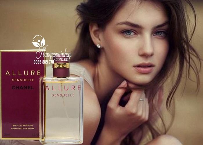 Nước hoa nữ Chanel Allure Sensuelle EDP 35ml của Pháp 2