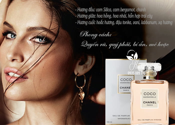 Nước hoa nữ Chanel Coco Mademoiselle Intense EDP 100ml  2