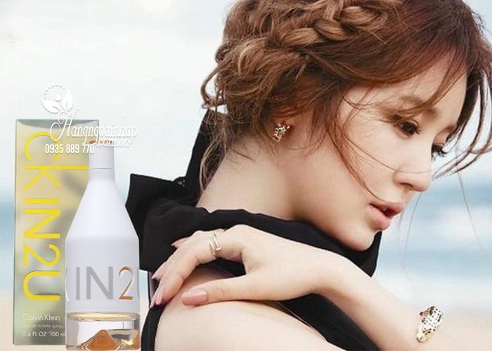 Nước hoa nữ CK IN2U Her Calvin Klein EDT 100ml - hàng Mỹ