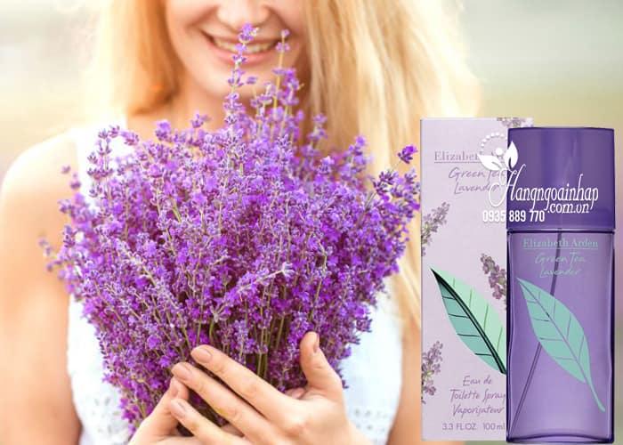 Nước hoa nữ Elizabeth Arden Green Tea Lavender EDT 100ml 3