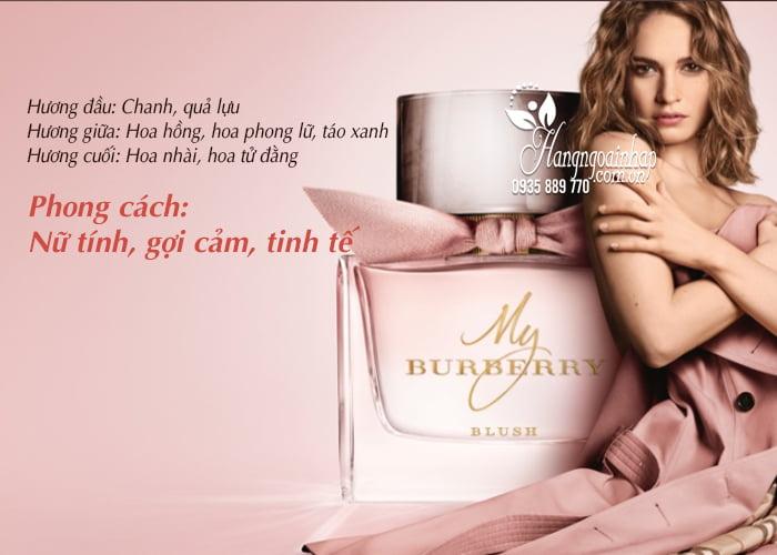 Nước hoa nữ My Burberry Blush EDP 90ml chính hãng Anh Quốc 3