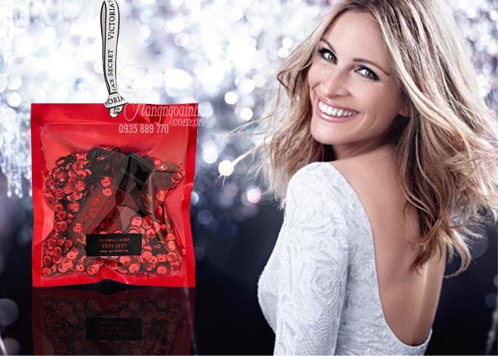 Nước hoa Victoria's Secret mini kim tuyến 7.5ml dành cho mùa lễ hội, tết