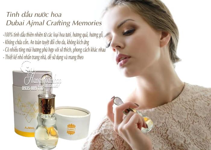 Tinh dầu nước hoa Dubai Ajmal Crafting Memories 12ml 3