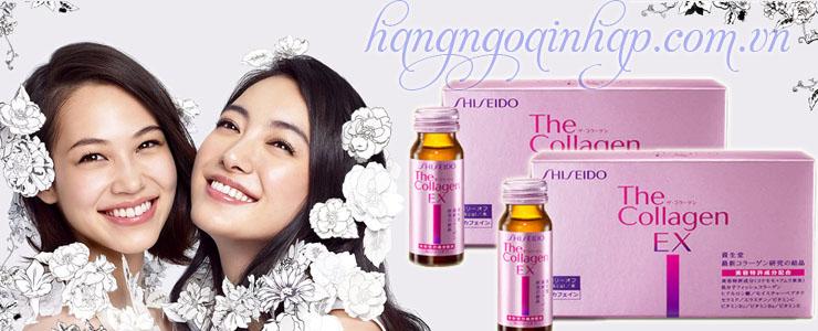 Collagen Shiseido EX dạng nước uống của Nhật Bản