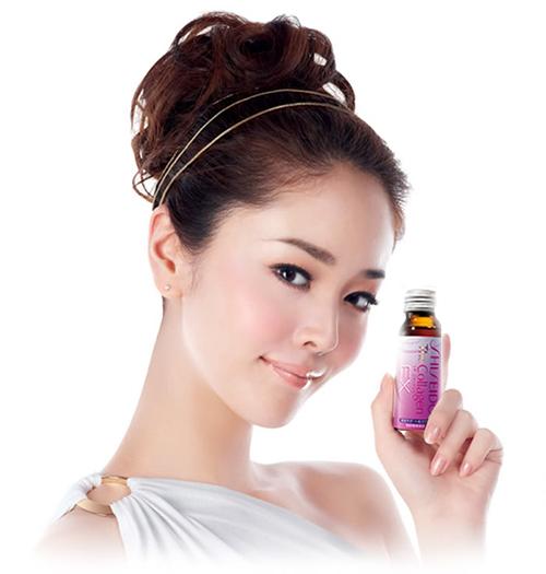Collagen Shiseido EX dạng nước uống Hộp 10 lọ Nhật Bản