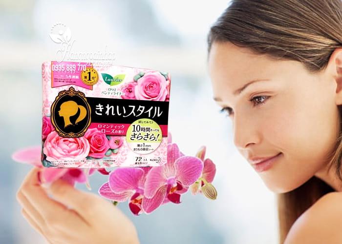 Băng vệ sinh hàng ngày Laurier Nhật Bản 72 miếng 3