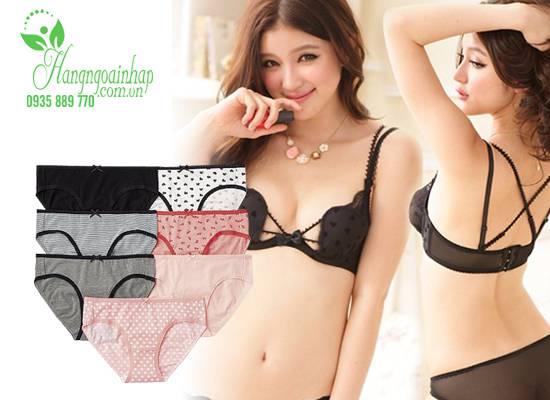 Set 7 quần lót cho nữ cotton Uniqlo GU của Nhật Bản