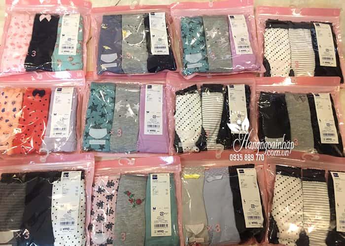 Quần chip Gu Uniqlo Nhật Bản set 3 cái, quần cotton mềm mại  5