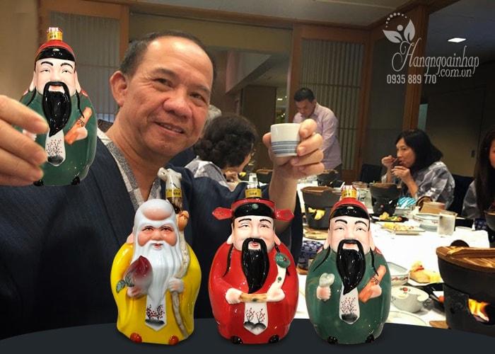 Bộ rượu tam tiên Phúc Lộc Thọ của Nhật Bản