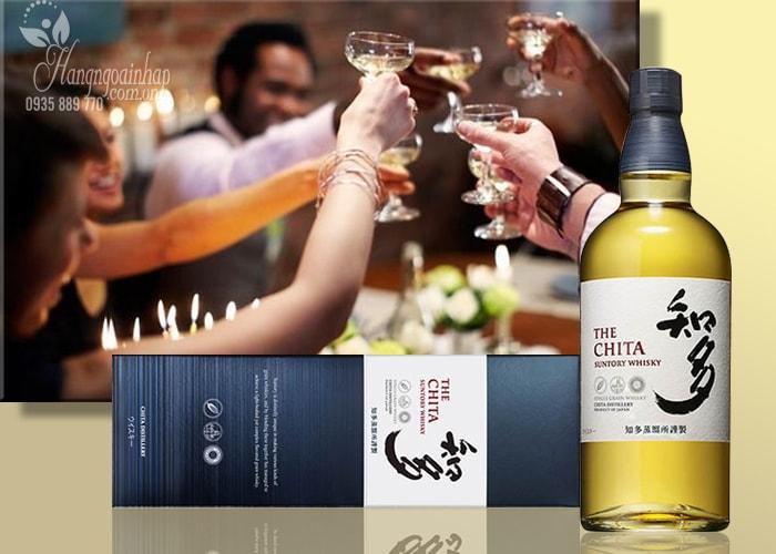 Rượu The Chita Suntory Whisky 700ml của Nhật