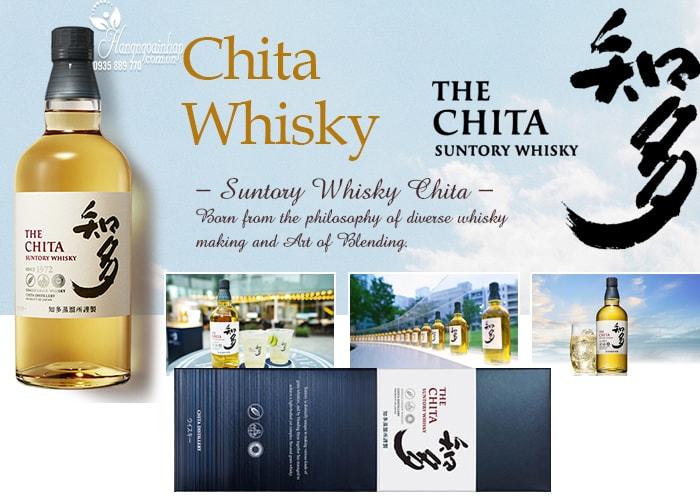 Rượu The Chita Suntory Whisky 700ml Nhật Bản