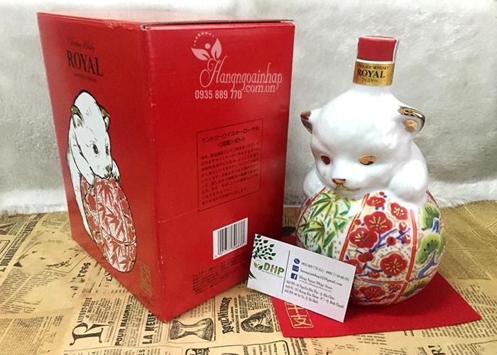 Rượu con chó Whisky Suntory Royal 600ml độc đáo của Nhật Bản