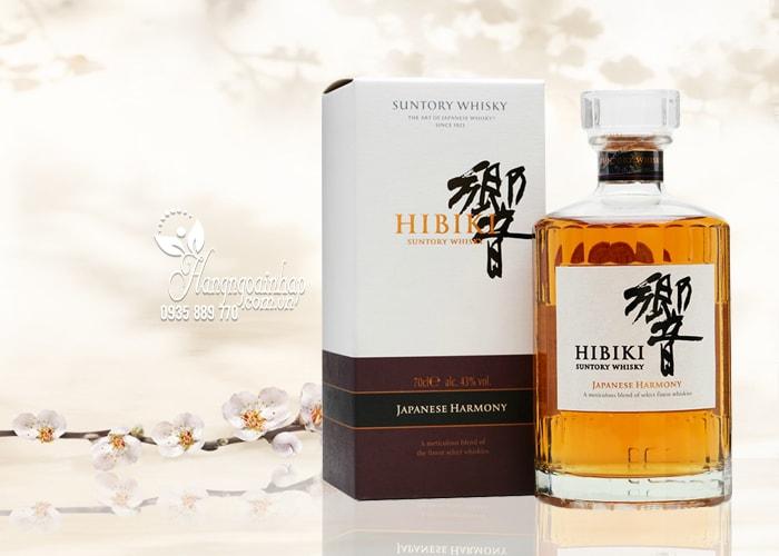 Rượu Hibiki Japanese Harmony Suntory Whisky 700ml của Nhật Bản