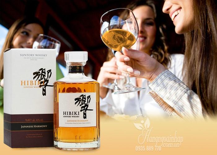 Rượu Hibiki Japanese Harmony Suntory Whisky 700ml