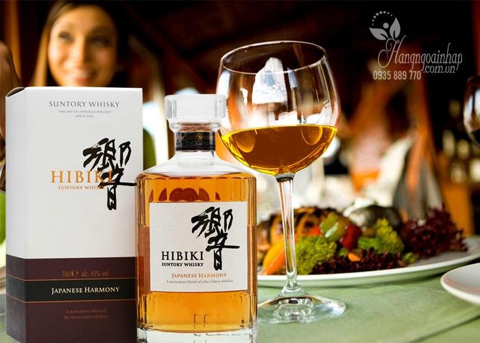 Rượu Hibiki Japanese Harmony Suntory Whisky của Nhật Bản