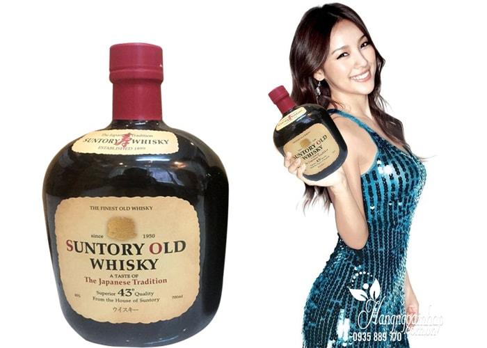 Rượu Whisky Suntory Old 700ml của Nhật, hàng chính hãng