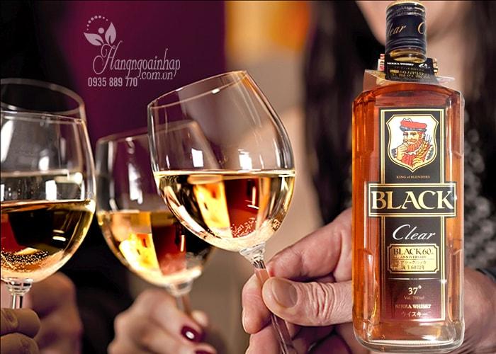 Rượu Whisky Black Clear 700ml của Nhật Bản giá rẻ nhất