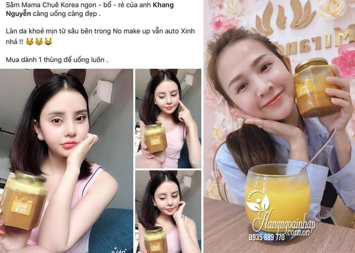 Sâm nghệ mật ong Mama Chuê Hàn Quốc chính hãng hũ 500g 3